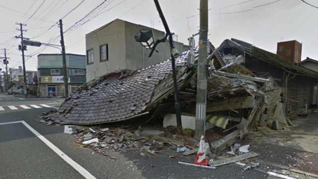 Google Street View Car in Fukushima, Japan - SlightlyQualified.com
