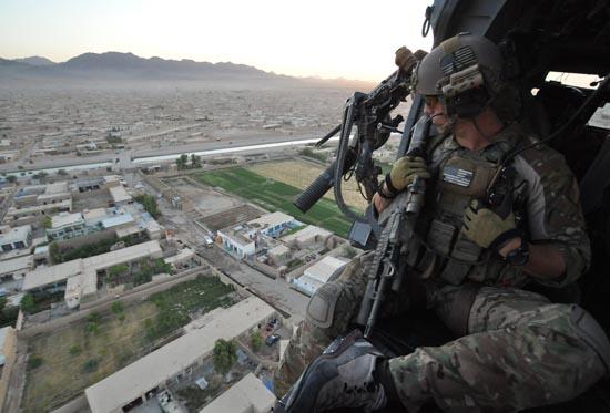 PJ's Over Kandahar Province, Afghanistan - SlightlyQualified.com