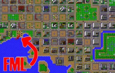 SimCity was only good for destruction.