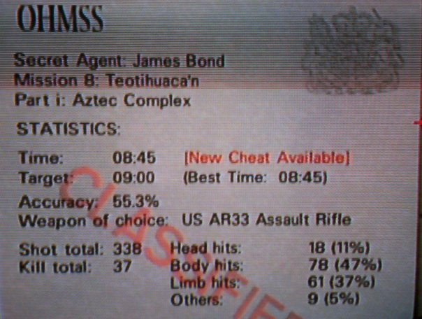 Goldeneye 64 Aztec Challenge - SlightlyQualified.com