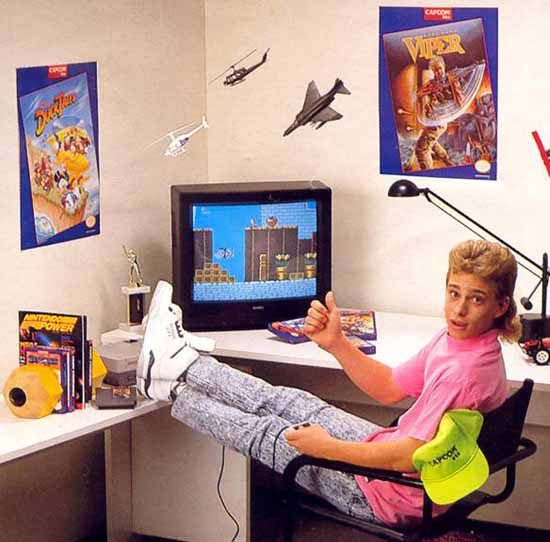 Nintendo Power Mullet Kid - SlightlyQualified.com