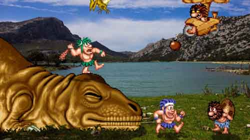 Cavemen SNES - SlightlyQualified.com
