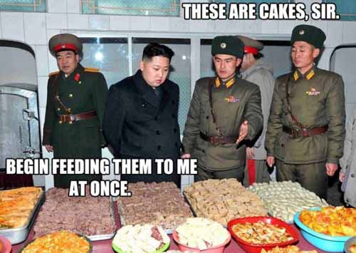 Kim Jong-un Likes Cake - SlightlyQualified.com