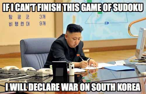 Kim Jong-un South Korea Games - SlightlyQualified.com