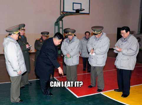 Kim Jong-Un Wants to Eat the Court - SlightlyQualified.com
