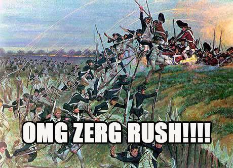 OMG Zerg Rush on Yorktown - SlightlyQualified.com