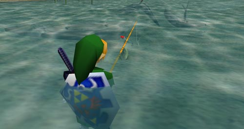 Ocarina of Time Fishing - SlightlyQualified.com