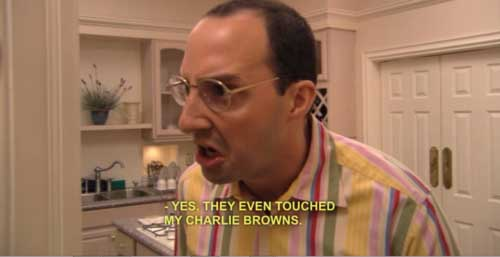 Buster Bluth Charlie Browns - SlightlyQualified.com