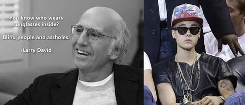 Larry David vs Justin Bieber - SlightlyQualified.com