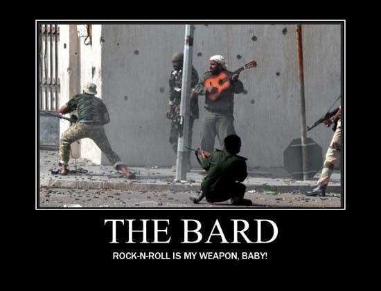 Proof That You Should Never Be a Bard - SlightlyQualified.com Funny Pics