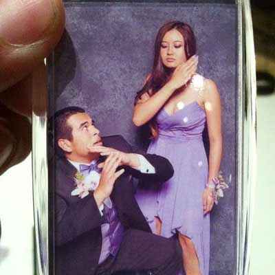 Funny Violent Couple Prom Picture - SlightlyQualified.com Funny Pics