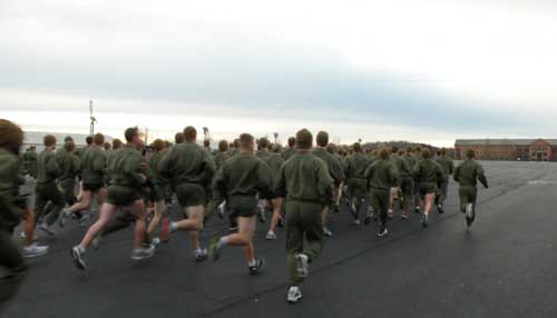 Marine Corps 3-Mile PFT Run Tips
