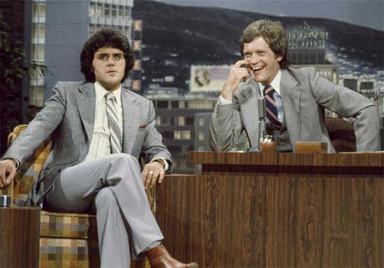 Jay Leno and David Letterman Funny Picture in 1979 - SlightlyQualified.com Funny Pictures, Funny Videos and Military Analysis