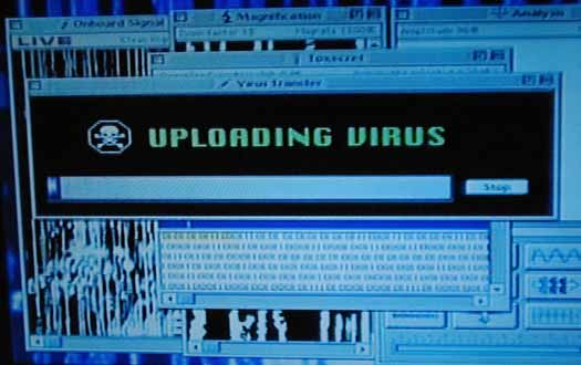 uploading virus - independence day