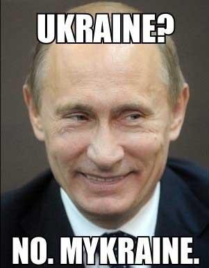 Funny Vladimir Putin Ukraine PIc - SlightlyQualified.com