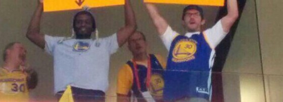 Warrior Fans Heckle Donald Sterling With Signs