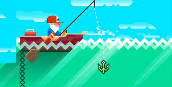 iOS Games We Like: Ridiculous Fishing