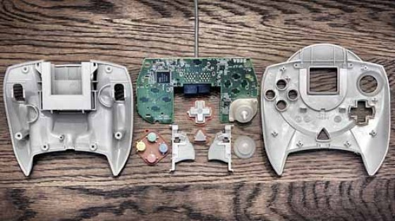 Deconstructed Game Controllers