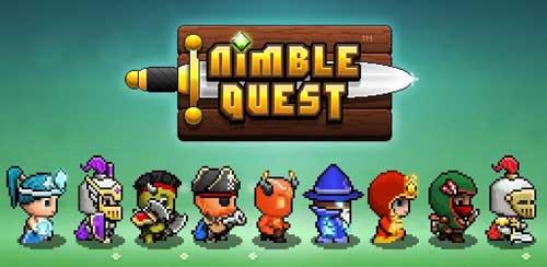 Nimble Quest Logo - SlightlyQualified.com