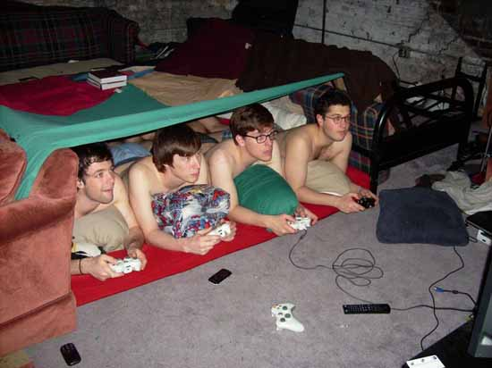 Video Games and Blanket Forts Funny Picture - SlightlyQualified.com