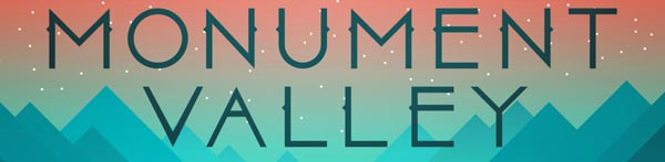 Monument Valley for iOS is a game we definitely like! SlightlyQualified.com